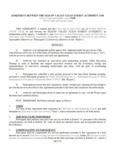 Image of the partnership agreement - link to document