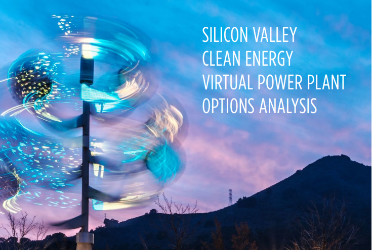 Silicon Valley Clean Energy Virtual Power Plant Options Analysis Report Cover