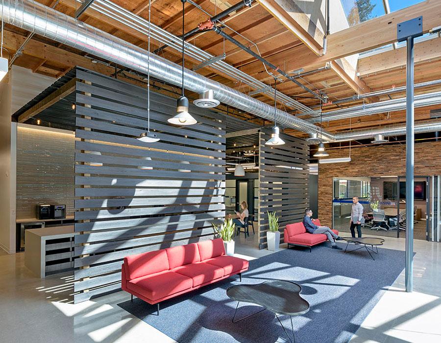 LinkedIn office interior