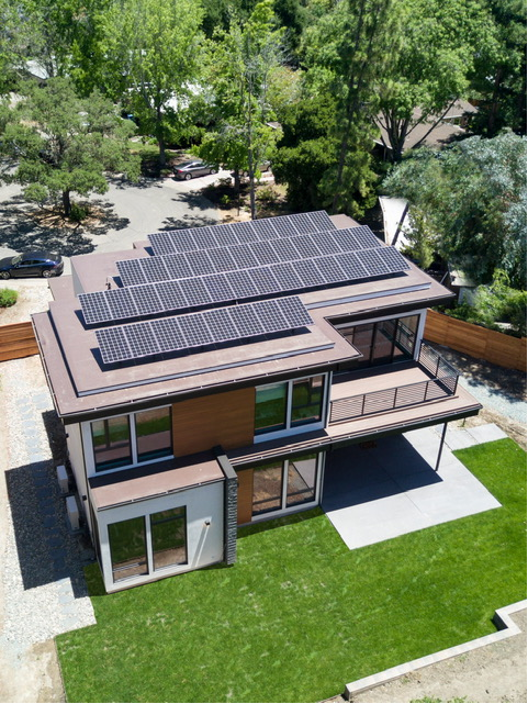 Mark Jacobson home rooftop solar